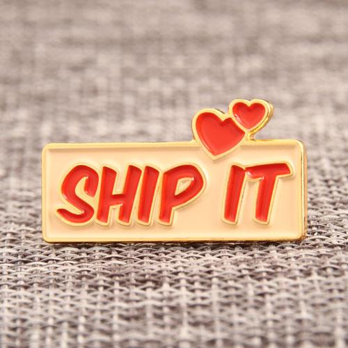 SHIP IT Enamel Pin