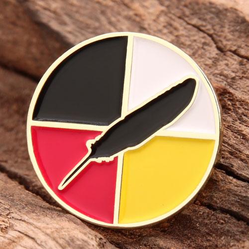 Feather Custom Enamel Pins