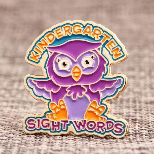 Kindergarten Sight Words Custom Pins