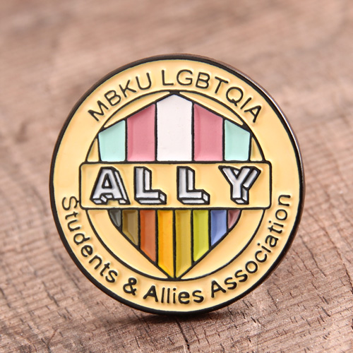 Ally Soft Enamel Pins