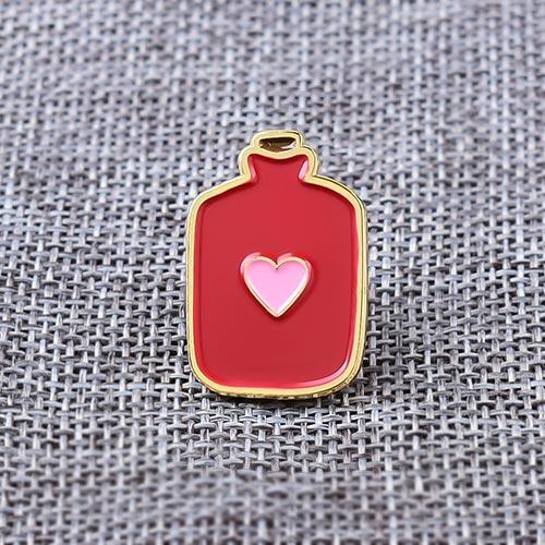 Heart Bottle Custom Pins