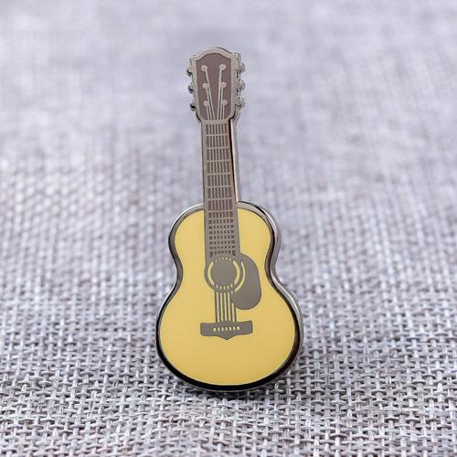 Guitar Enamel Lapel Pins