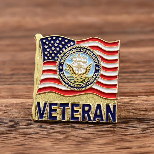 Veteran Navy Custom Lapel Pins