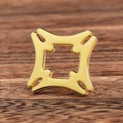 Gold Cut-out Custom Lapel Pins