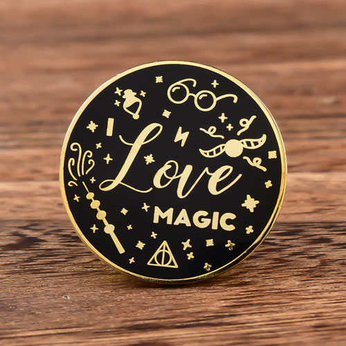 Love Magic Custom Lapel Pins