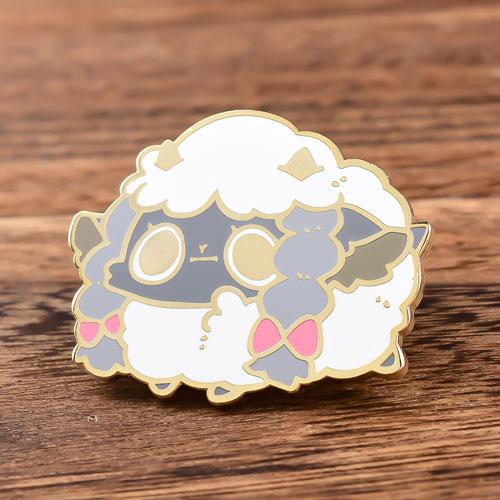 Cute Sheep Enamel Pins