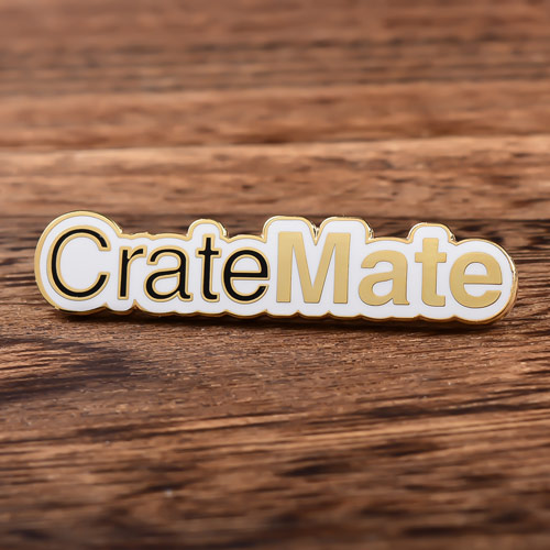 Crate Mate Enamel Pins
