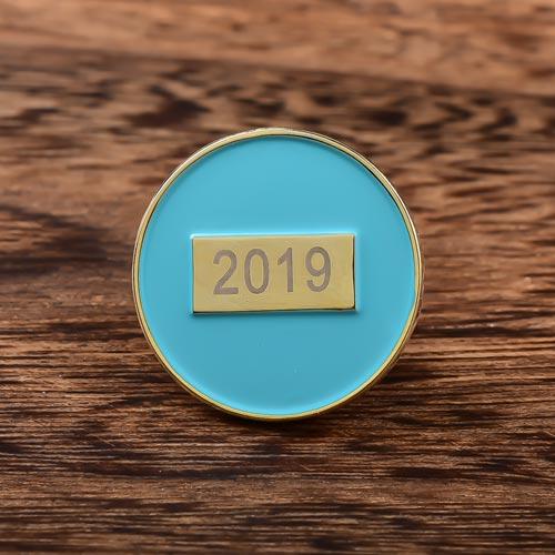 2019 Round Enamel Pins