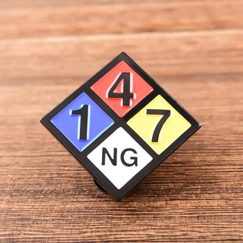 147 NG Soft Enamel Pins