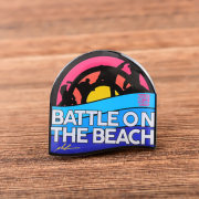 Battle on the Beach Custom Pins