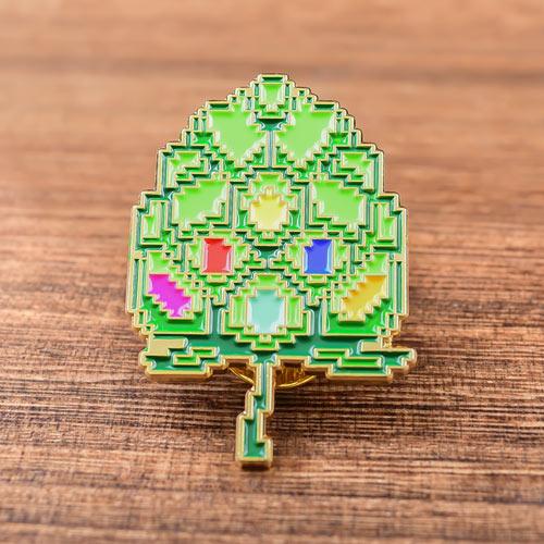Puzzle Tree Custom Lapel Pins
