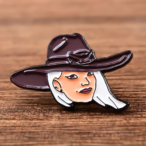 Pretty Lady Soft Enamel Pins