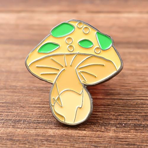 Mushroom Soft Enamel Pins