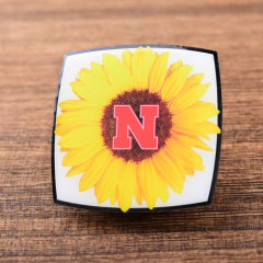 Sunflower Offset Printed Pins