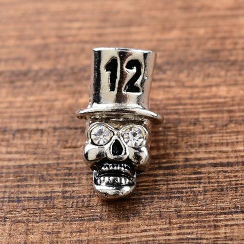 12 Skull Custom Lapel Pins