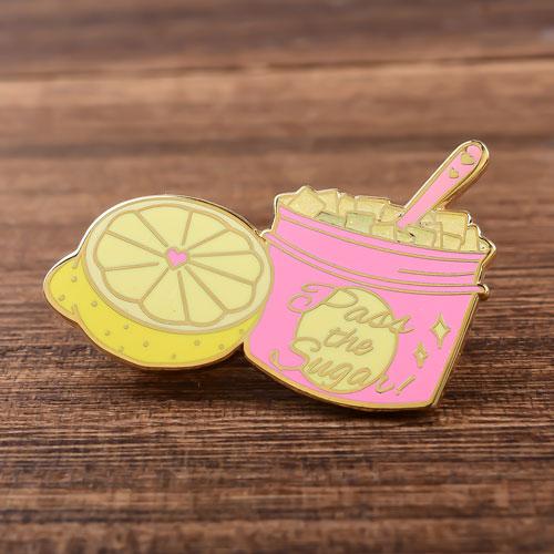 Pass the Sugar Custom Lapel Pins
