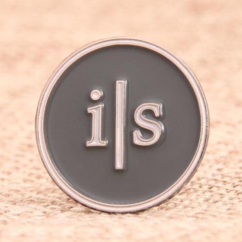 i|s Custom Enamel Pins