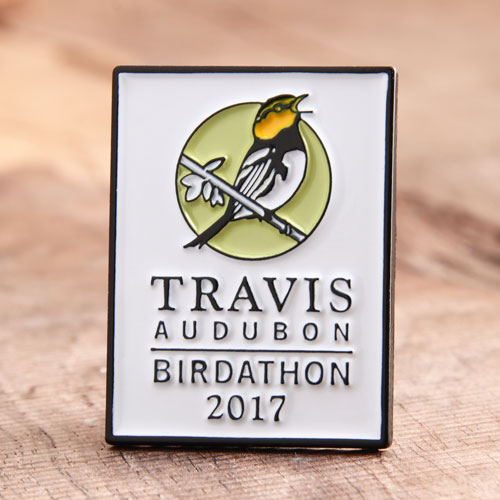 Travis Audubon Custom Pins