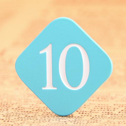 10 Custom Lapel Pins