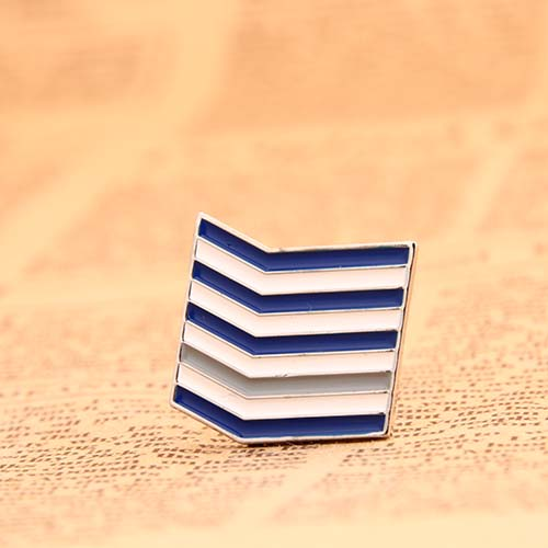 Sailor's Striped Enamel Pins