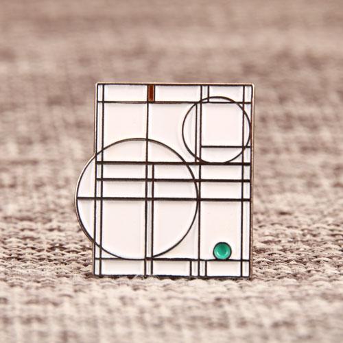 Geometric Patterns Lapel Pins