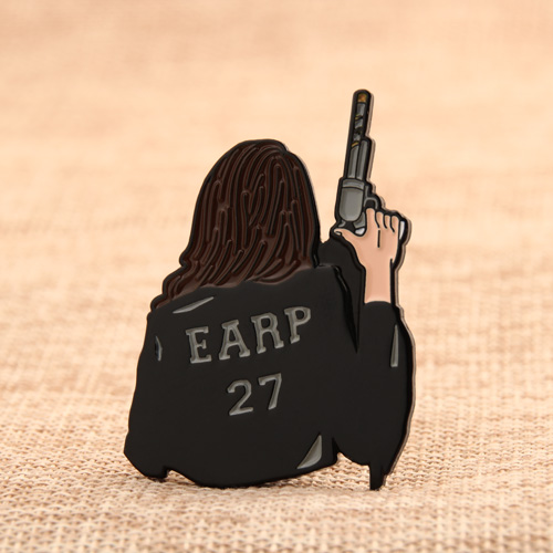 Earp 27 Enamel Pins