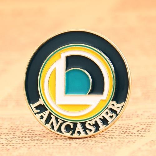 Lancaster Custom Enamel Pins