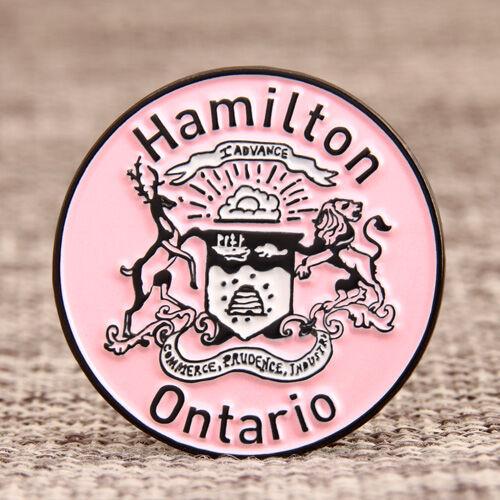 City Of Hamilton Lapel Pins