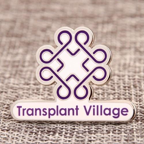 Transplant Village Lapel Pins