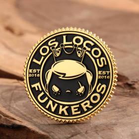 Los Locos Funkeros Pins