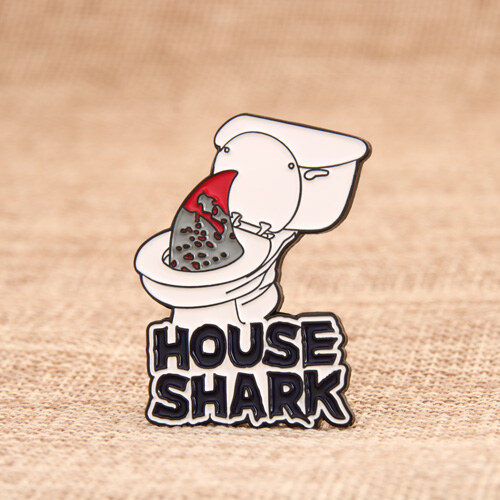 House Shark Lapel Pins