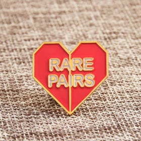 Rare Pairs Enamel Pins