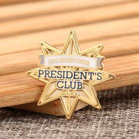 TMC President's Club Pins