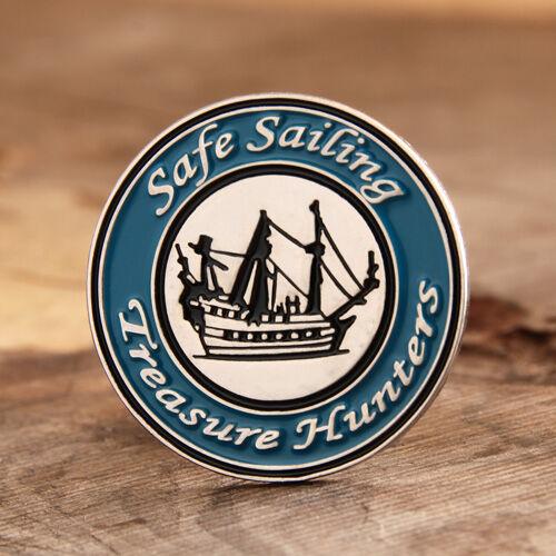 Safe Sailing Custom Pins