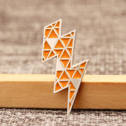 Lightning Custom Lapel Pins