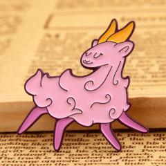 Pink Sheep Lapel Pins