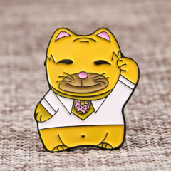 Mr. Cat Enamel Pins