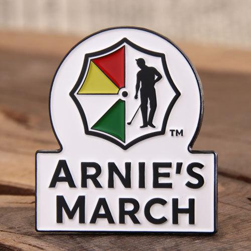 Arnie's March Enamel Pins