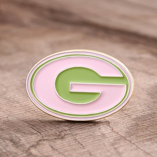G Letter Custom Pins Cheap