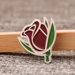 Rose Custom Enamel Pins