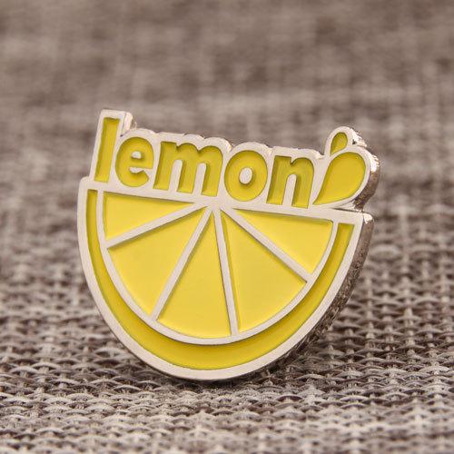 Lemon Enamel Pins