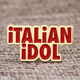 Italian Idol Enamel Pins