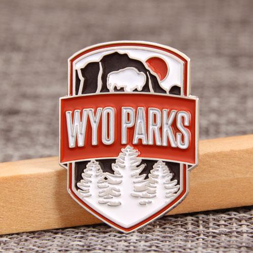 WYO Parks Enamel Pins