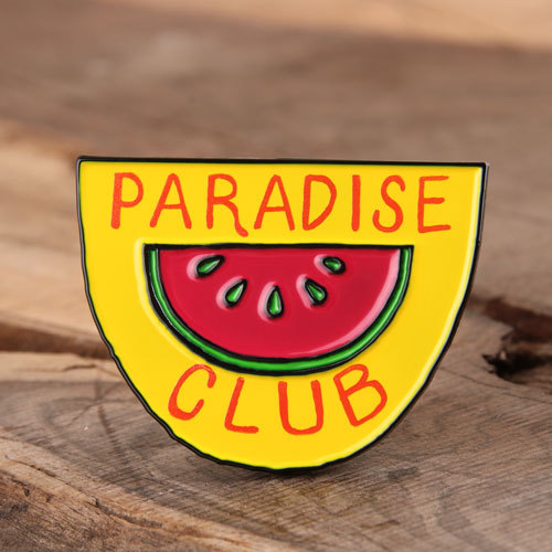 Paradise Club Enamel Pins
