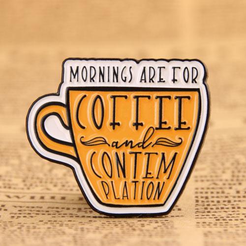Coffee Custom Enamel Pins