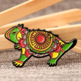 Chameleon Custom Enamel Pins
