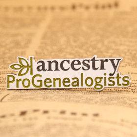Ancestry Pro Genealogists Enamel Pins