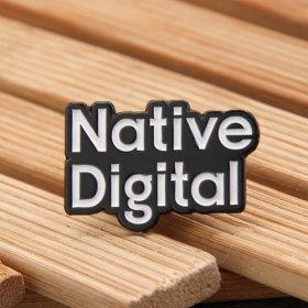 Native Digital Custom Enamel Pins