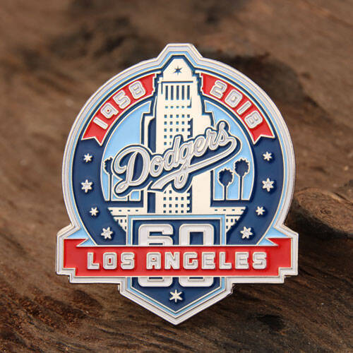 Los Angeles Dodgers Enamel Pins