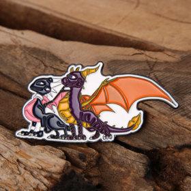 Dinosaur Enamel Pins